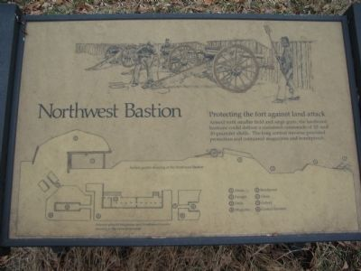 Northwest Bastion Marker image. Click for full size.