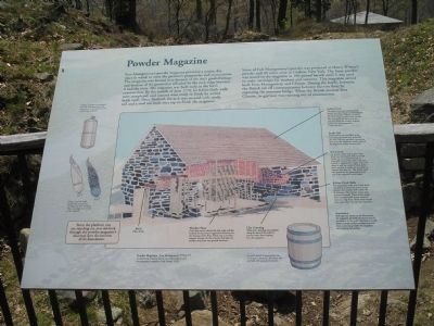 Powder Magazine Marker Photo, Click for full size