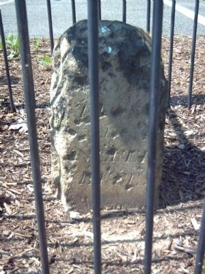 Original Federal Boundary Stone SW 3 image. Click for full size.