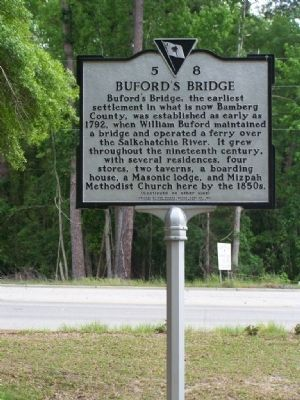 Buford's Bridge Marker Photo, Click for full size