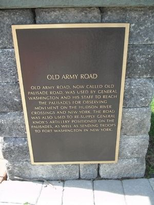 Old Army Road Marker image. Click for full size.