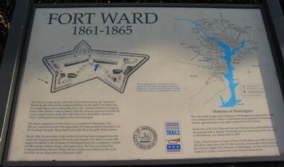Fort Ward Marker image. Click for full size.