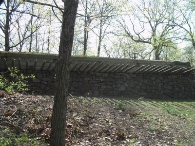 Fortifications at Fort Lee Historic Park image. Click for full size.