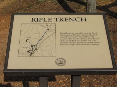 Rifle Trench Marker image. Click for full size.