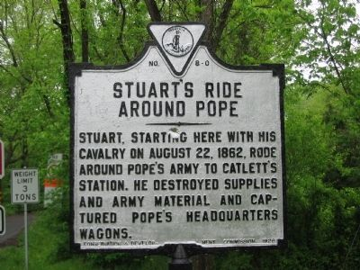 Stuart's Ride Around Pope Marker image. Click for full size.