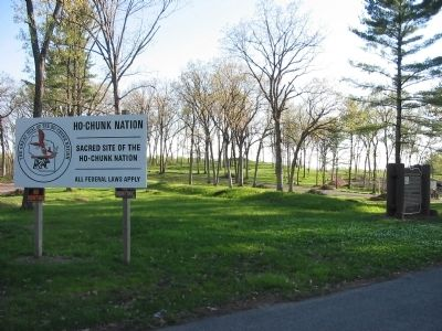 Kingsley Bend Indian Mounds image. Click for full size.