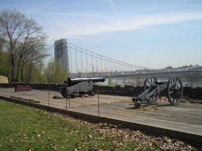 Fort Lee Artillery image. Click for full size.