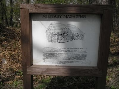 Military Magazine Marker image. Click for full size.