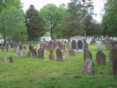 Graves in Rahway Cemetery image. Click for full size.