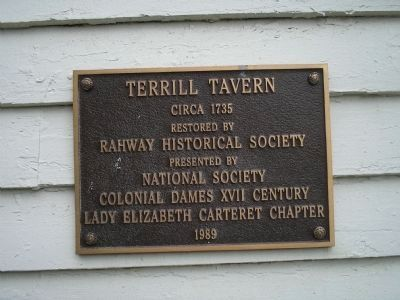 Terrill Tavern Marker image. Click for full size.