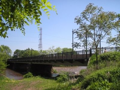 Bridge over Millstone River image. Click for full size.