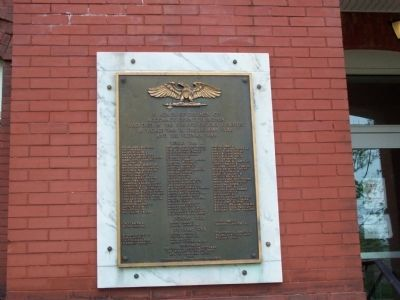Accomack County Virginia World War II, Korea & Vietnam Marker Photo, Click for full size