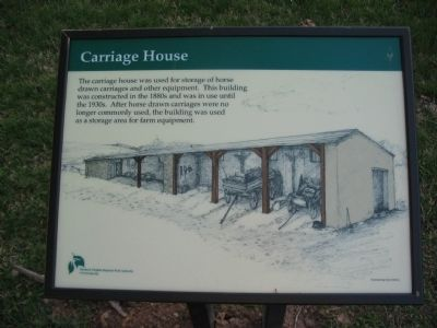 Carriage House Marker image. Click for full size.