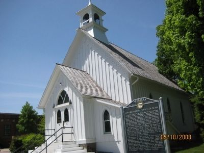 Blair Congregational Church image. Click for full size.