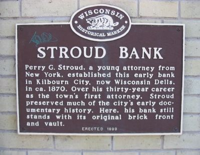 Stroud Bank Marker image. Click for full size.
