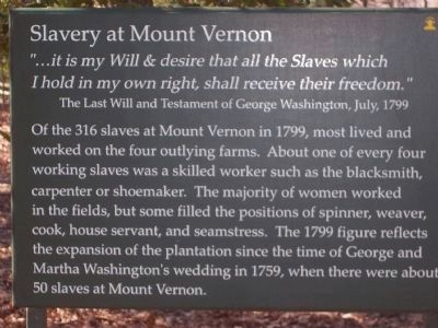 """Slavery at Mount Vernon."" image. Click for full size."