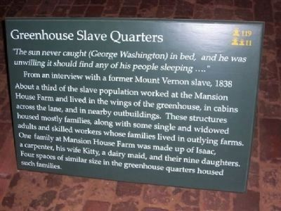 Greenhouse Slave Quarters image. Click for full size.