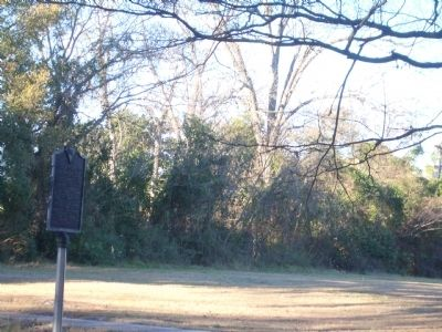 Marker at Empty Lot image. Click for full size.