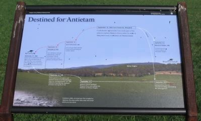 Destined for Antietam Marker image. Click for full size.
