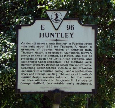 Huntley Marker image. Click for full size.