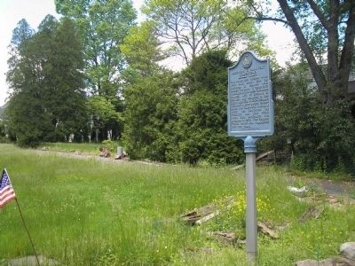 Marker on Lafayette Road image. Click for full size.