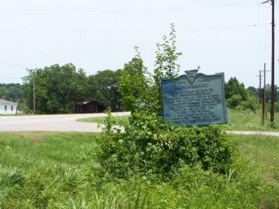 Edmundsbury Marker near Clover Hill Rd. Photo, Click for full size