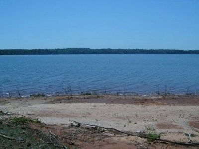 The Shores of Lake Thurmond<br>Georgia in the Distance Photo, Click for full size