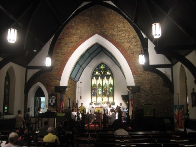 Interior of Christ Episcopal Church image. Click for full size.
