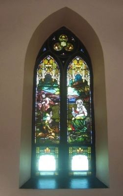 Stained glass window. image. Click for full size.