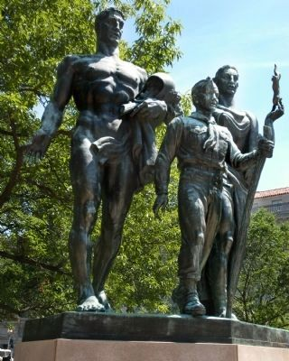 Boy Scout Memorial Photo, Click for full size