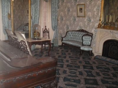 Theodore Roosevelt Birthplace Parlor image. Click for full size.