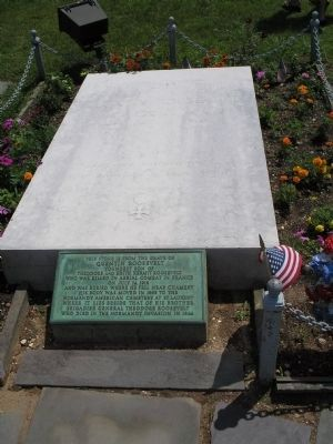 Quentin Roosevelt Gravestone image. Click for full size.