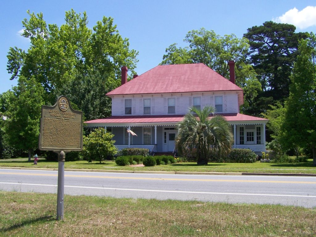 Guyton Confederate General Hospital Marker
