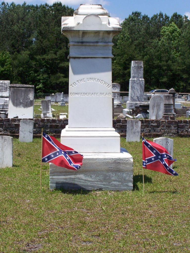"""To The Unknown Confederate Dead. """