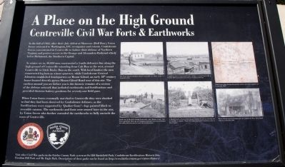 A Place on the High Ground Marker image. Click for full size.