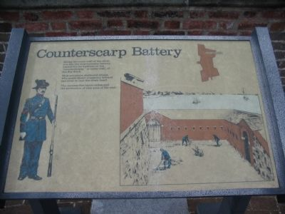Counterscarp Battery Marker image. Click for full size.