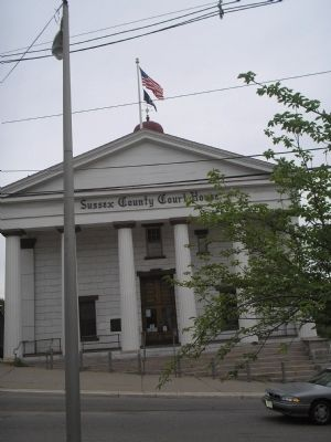 Sussex County Court House image. Click for full size.