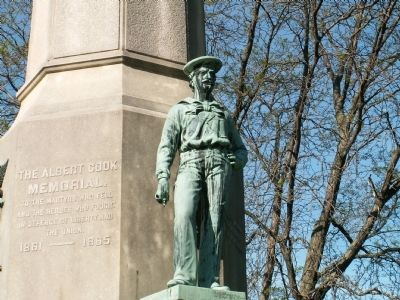 The Albert Cook Memorial image. Click for full size.