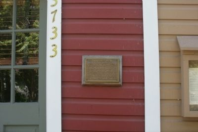 Taylor's Row Marker image. Click for full size.