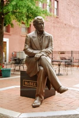 Vardry McBee Statue Photo, Click for full size