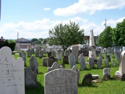 Cemetery where Philip Berlin is buried. image. Click for full size.