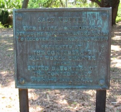 Salt Kettle Marker image. Click for full size.