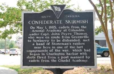Confederate Skirmish Marker image. Click for full size.