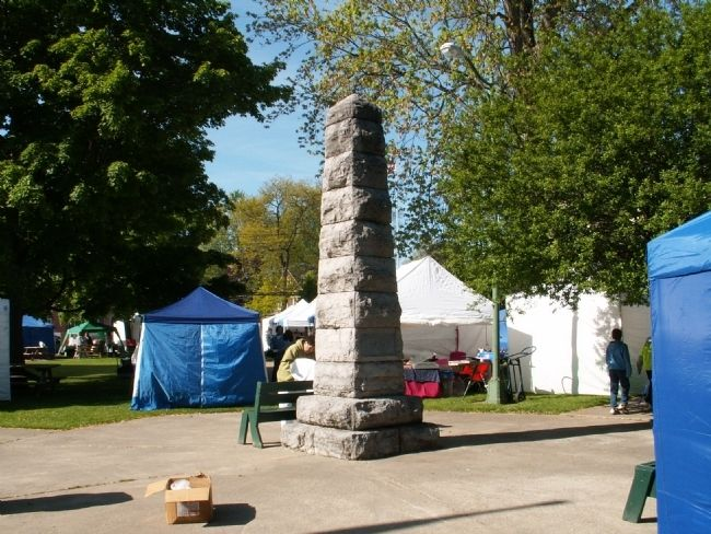 The destruction of the Indian village SKOI-YASE Monument Photo, Click for full size
