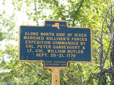Sullivan�s Forces Marker Photo, Click for full size