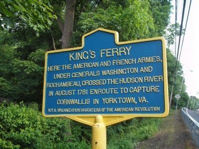 King�s Ferry Marker image. Click for full size.