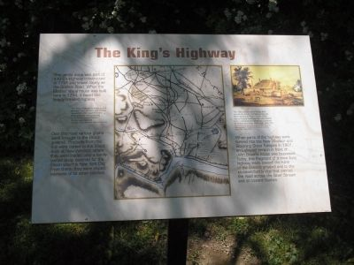 The King�s Highway Marker image. Click for full size.