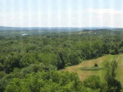 View From Saratoga Monument Photo, Click for full size