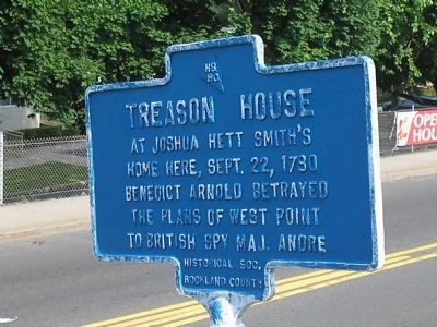 Treason House Marker Photo, Click for full size