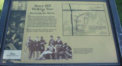 Henry Hill Walking Tour Marker image. Click for full size.